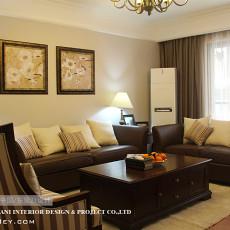 热门面积111平欧式四居客厅装修设计效果图