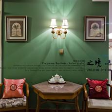 热门面积71平东南亚二居休闲区欣赏图片