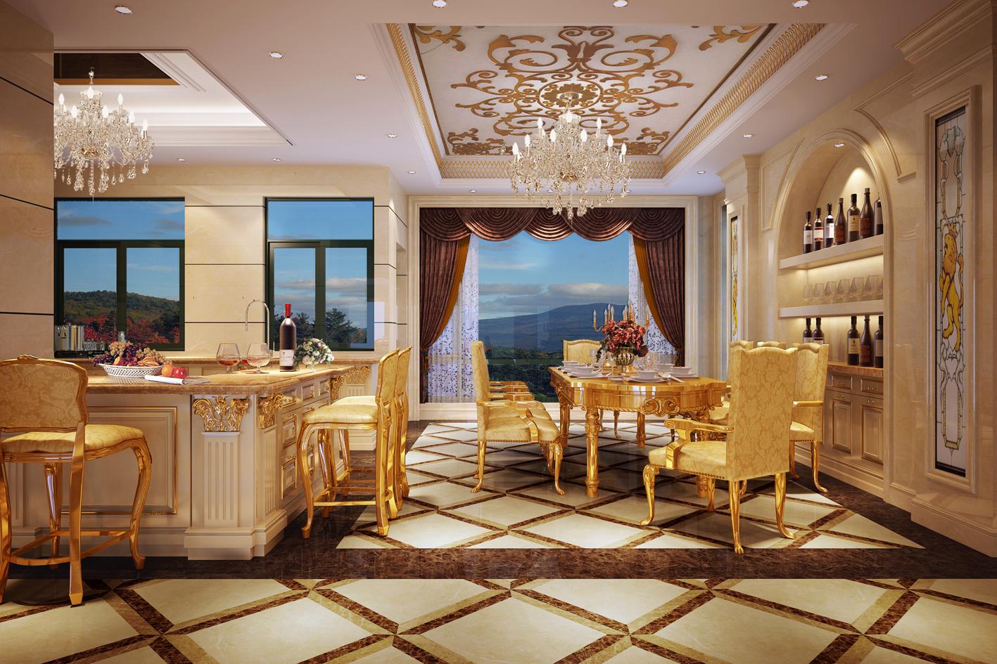 欧式典雅风厨房装修