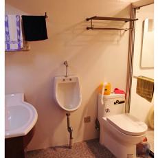 精美77平米二居卫生间混搭装修效果图