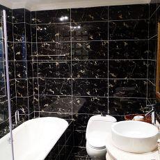 精选140平米混搭别墅卫生间实景图片大全