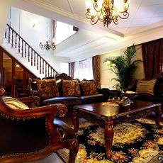 复式楼客厅家具装修效果图