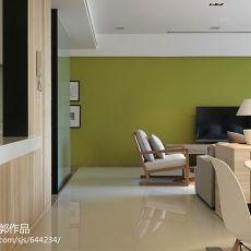 热门119平米四居客厅混搭实景图片