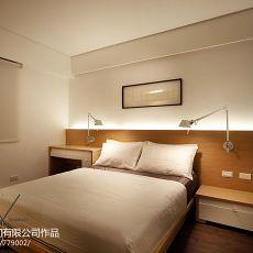 2018精选面积93平简约三居卧室装修设计效果图