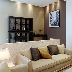 面积103平混搭三居客厅装饰图片大全