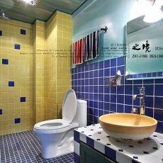 103平米三居卫生间地中海装修设计效果图片大全