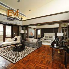 热门143平米欧式别墅卧室装修设计效果图片大全