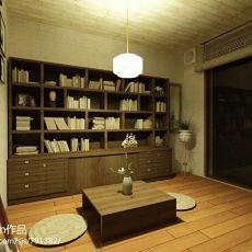 中式风格书房室内装饰效果图片