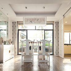 三居餐厅中式装修设计效果图片