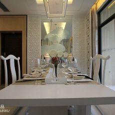 精选面积96平中式三居餐厅装修实景图片欣赏