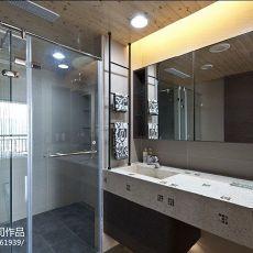 热门面积107平混搭三居阳台装修设计效果图片