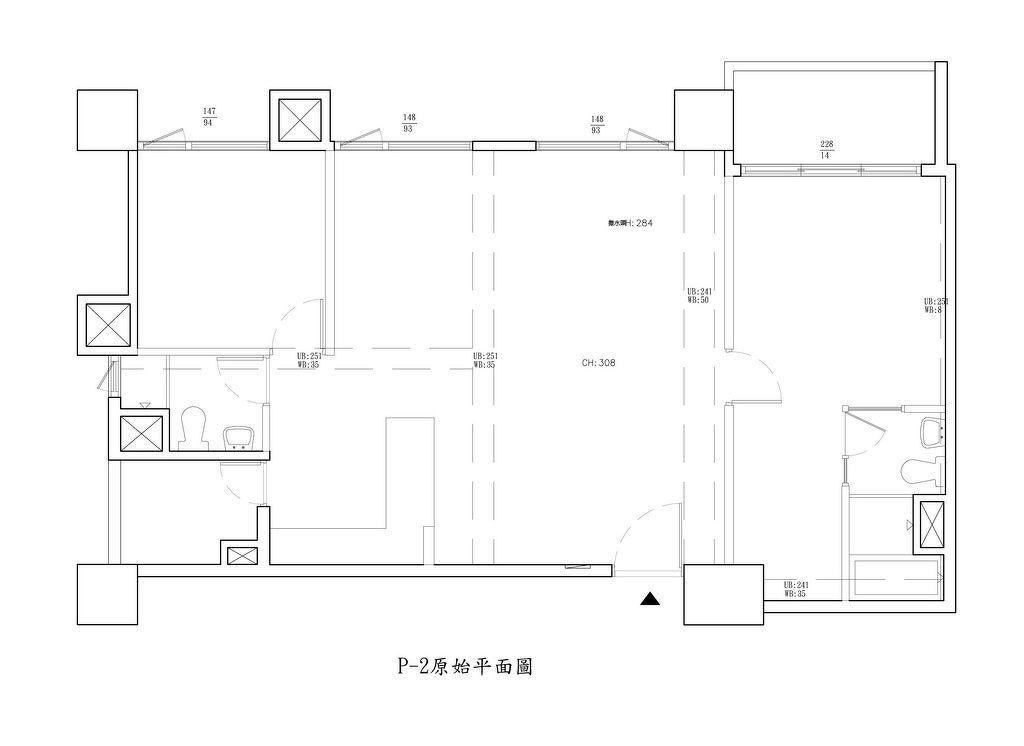 室内装修设计平面图