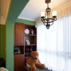 精选92平方三居卧室混搭装修欣赏图片