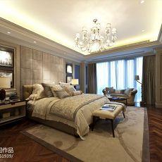 精选面积119平复式卧室混搭装修效果图片欣赏