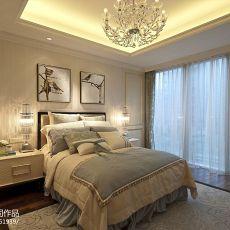 2018复式卧室混搭装修设计效果图