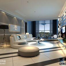 141平米现代别墅客厅欣赏图