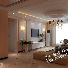 精美面积89平小户型客厅混搭装饰图片