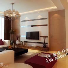 面积80平小户型客厅混搭装修图片欣赏