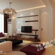 精美面积79平小户型客厅混搭装修实景图片