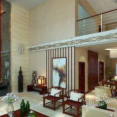 精美78平米混搭小户型客厅装修效果图片欣赏