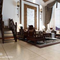 热门144平米混搭复式客厅装饰图片欣赏