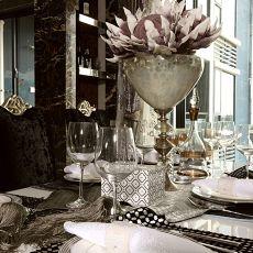 欧式三居餐厅装修设计效果图片大全