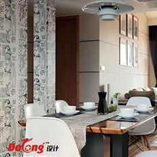 精选面积112平复式餐厅现代设计效果图