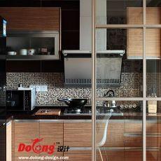 热门136平米现代复式厨房欣赏图片