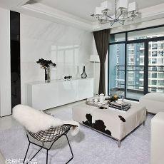 精选93平方三居客厅现代装饰图片欣赏