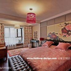 精选面积115平别墅卧室中式欣赏图片大全
