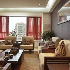 2018面积136平现代四居客厅装修欣赏图片大全