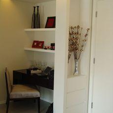 精选78平米混搭小户型书房装饰图片