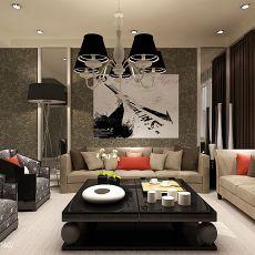 精美现代小户型客厅装饰图片