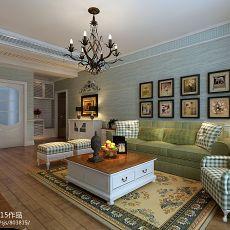 热门108平米3室客厅混搭装饰图片大全