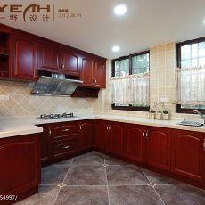 201889平米美式小户型厨房装饰图片