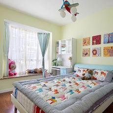 热门94平方三居卧室混搭设计效果图