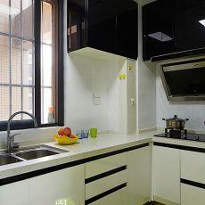 2018精选面积70平小户型厨房现代实景图片欣赏