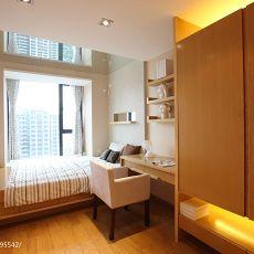 精美面积104平现代三居卧室装修欣赏图