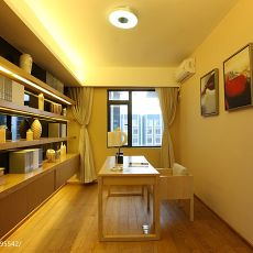 精美106平米三居书房现代装饰图片大全