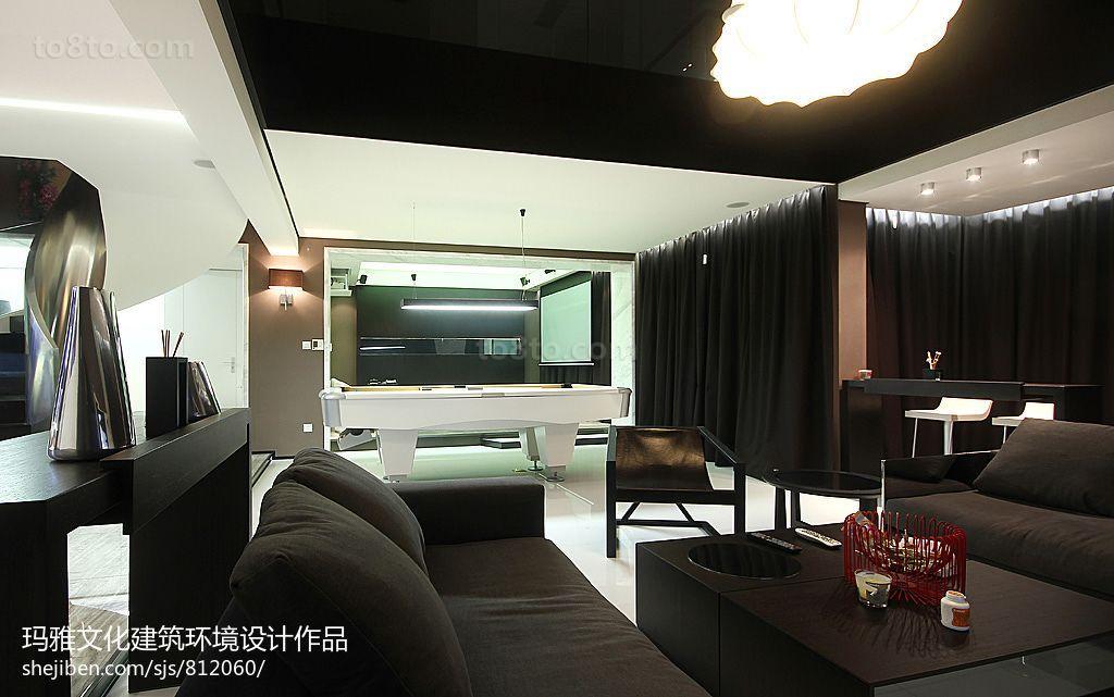 精选面积115平复式客厅现代实景图片大全