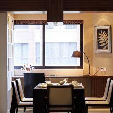 92平米三居餐厅现代欣赏图