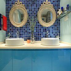 地中海风格卫生间瓷砖家装效果图