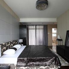 面积132平复式卧室现代设计效果图