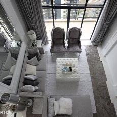 精美119平米欧式复式客厅装修效果图片大全