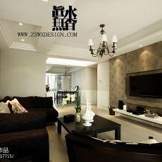 精选大小121平现代四居客厅装修设计效果图片欣赏
