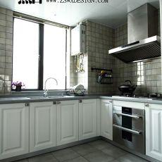 热门现代四居厨房装修设计效果图片欣赏
