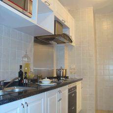 91平米三居厨房混搭装饰图