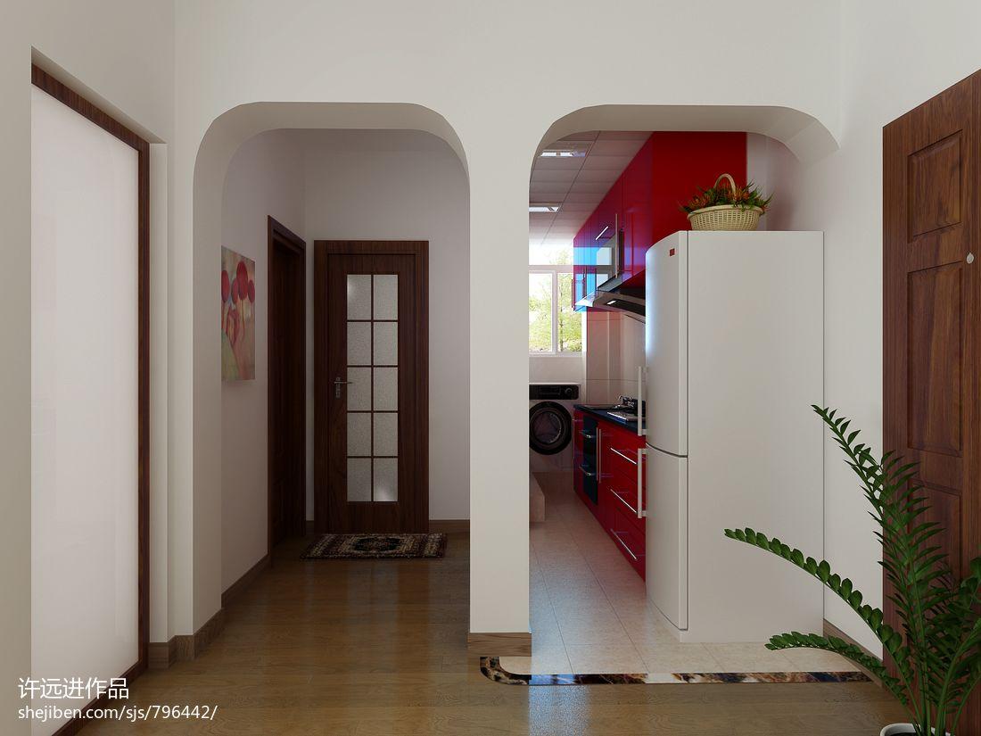 温馨美式客厅布置