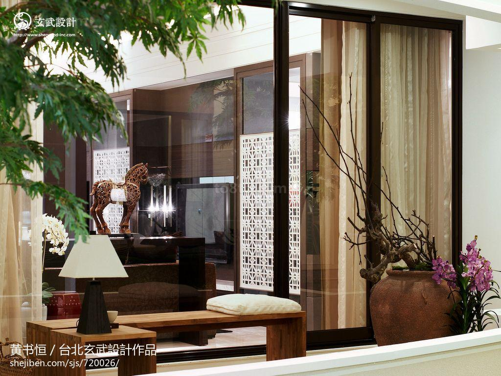 一居休闲区中式欣赏图片