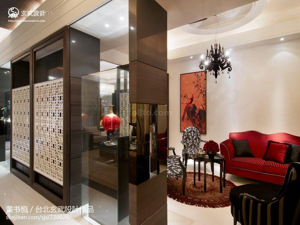 精美72平米二居休闲区中式装修欣赏图